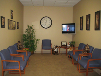 Waiting Room - Tour of Pediatric Dentist in Tracy, CA