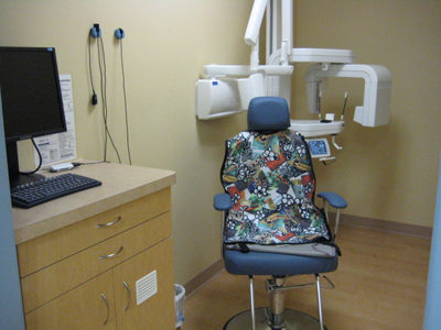 Xray Room - Tour of Pediatric Dentist in Tracy, CA